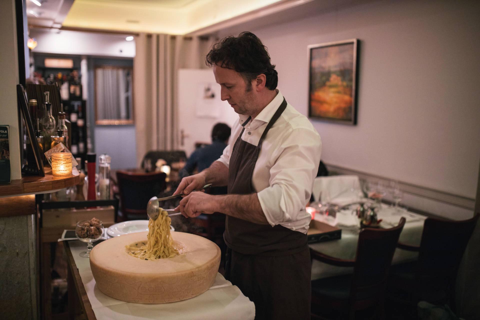 La Passione Den Haag Noordeinde Italiaans restaurant centrum pasta grana padano